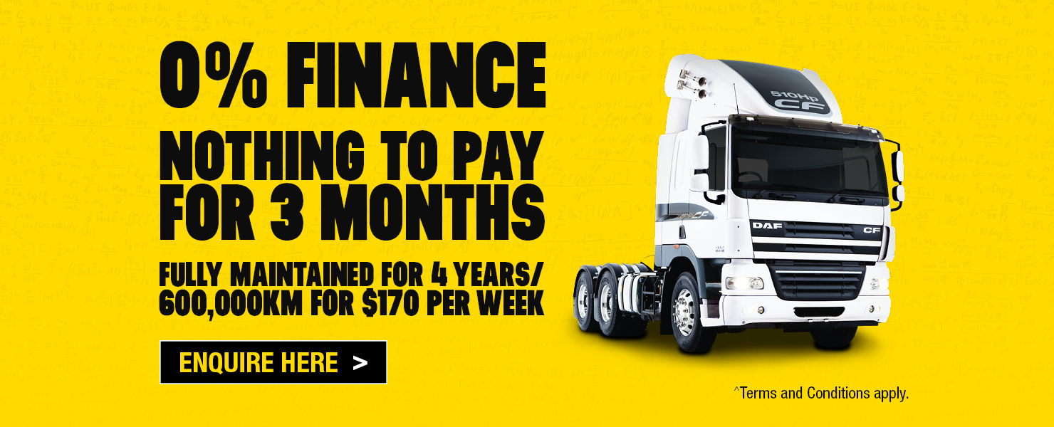 DAF CF85 Finance Offer