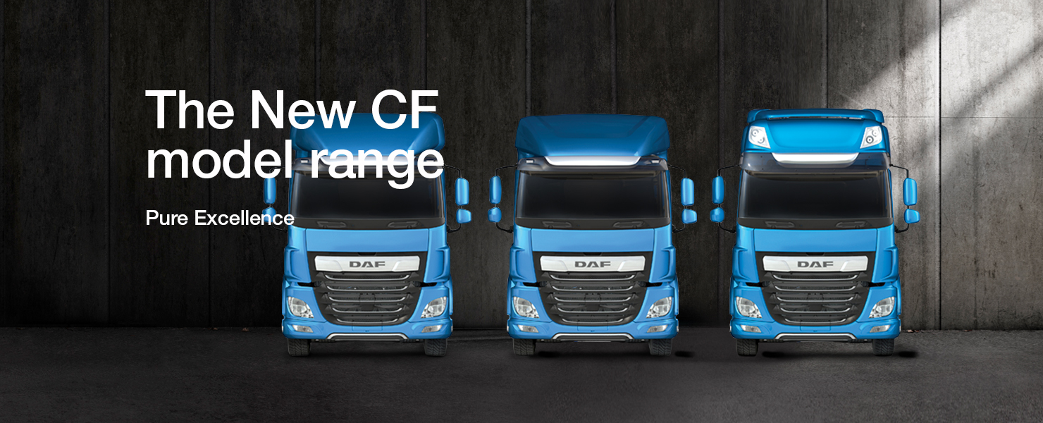 The new CF model range banner