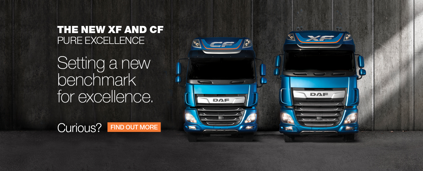 DAF Pure Excellence banner
