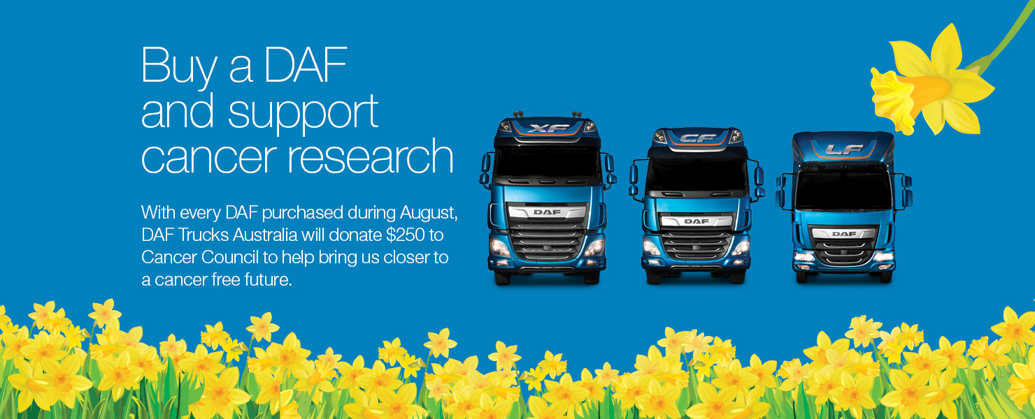 BUy a DAF and support cancer research